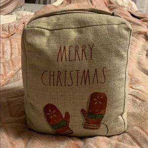 ✨NEW! Rae Dunn 'Merry Christmas' Door Stop